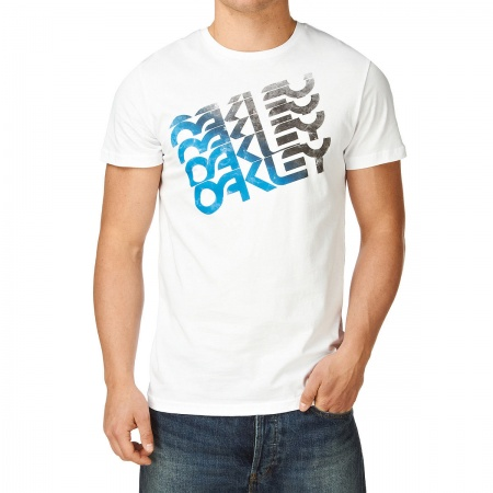 ФУТБОЛКА OAKLEY QUAD FACTORY TEE WHITE